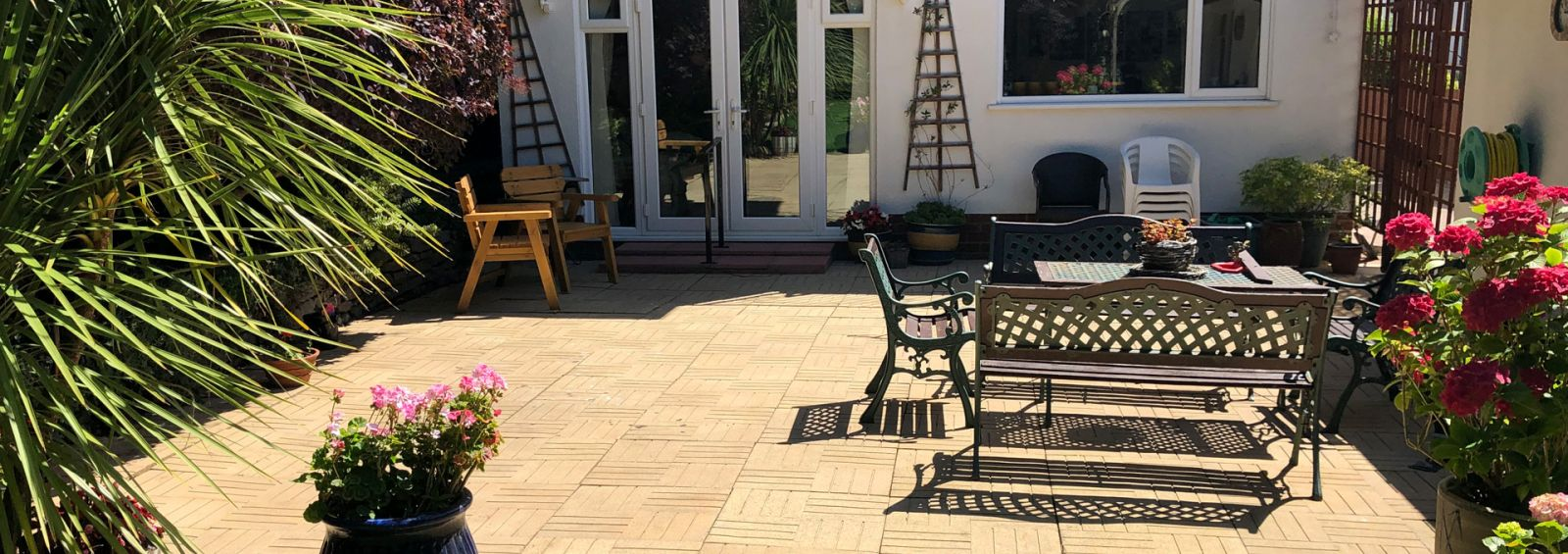 after patio clean power wash company conwy
